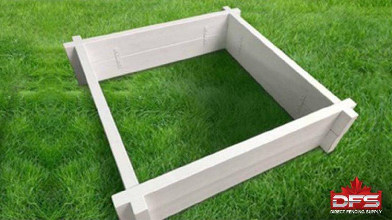 4x4 garden box fencing suppliers