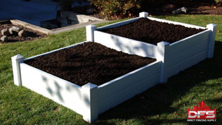 4x8 vinyl garden box vinyl fence distributors