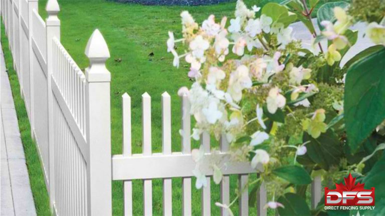 picket pvc vinyl fence canada