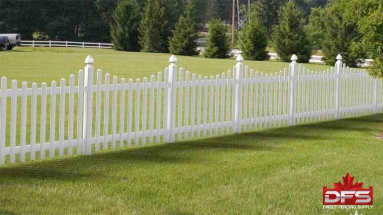 picket vinyl fence saskatchewan
