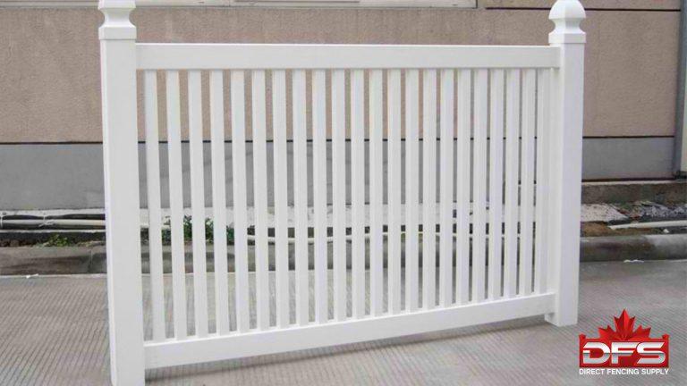 pool vinyl fence saskatchewan