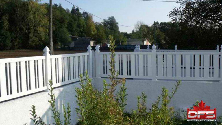 pool pvc vinyl fence canada