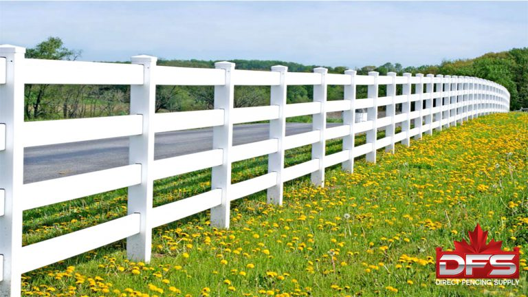 Ranch Rail security fencing moose jaw