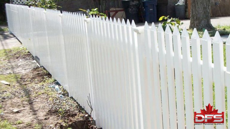 picket plastic fencing moose jaw