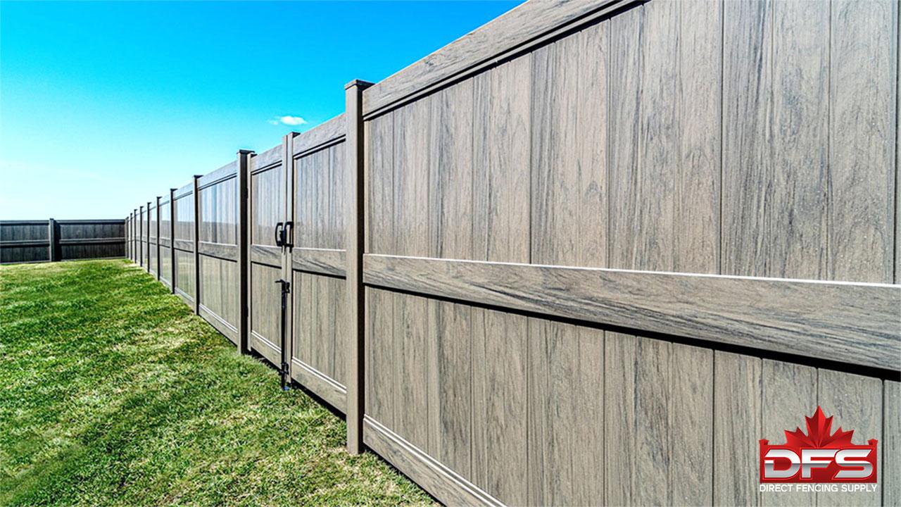 privacy pvc vinyl fence canada
