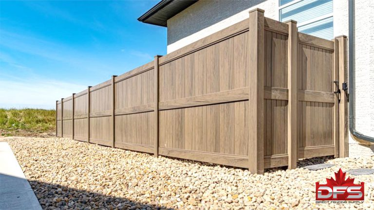 pvc fence security fencing
