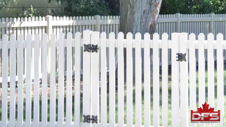 picket pvc fence moose jaw