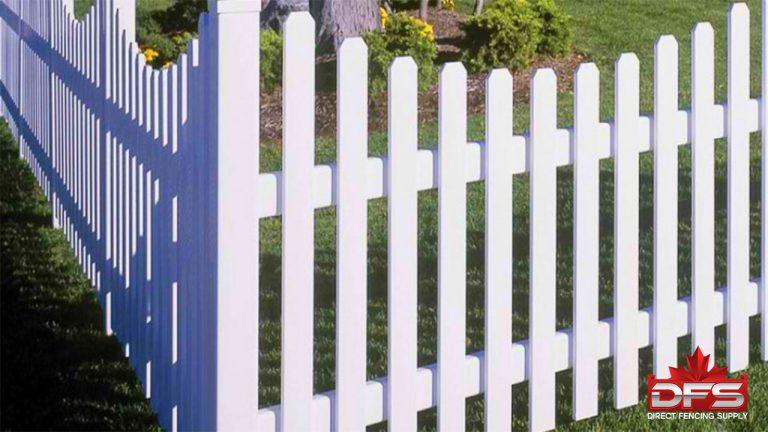 picket vinyl fence