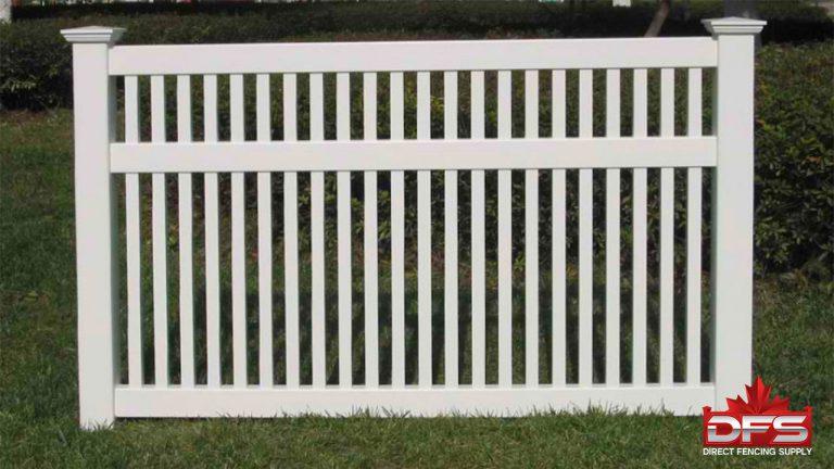 pool vinyl fence canada