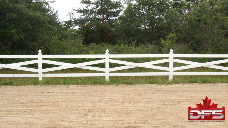 ranch rail vinyl fence saskatchewan