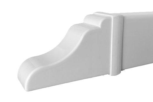 plastic fencing Arbour Rail Cap