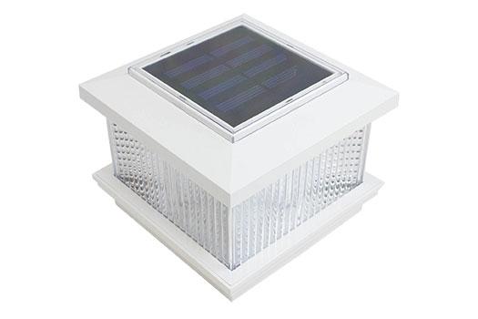 pvc fence Solar Light Post Cap