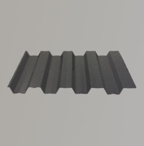 steel fence panel with more ribs