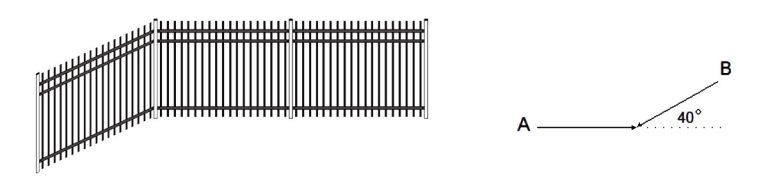 ornamental fence rackable panel illustration
